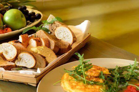 ארוחת בריאות בספא Spa buffet Or Yehuda