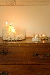 שלווה לאור נרות במרכז ספא