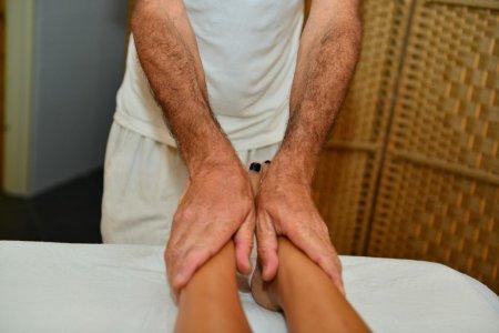 עיסוי כפות רגליים