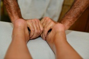feet massage Reflexology